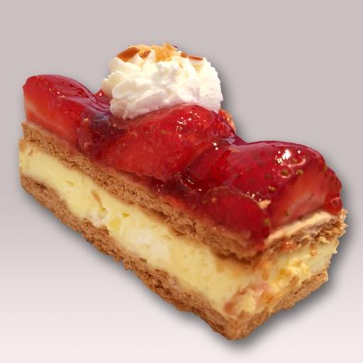 Schwegler Bäckerei - Erdbeerschnitten